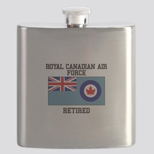 Royal Canadian Air Force Retired Flask