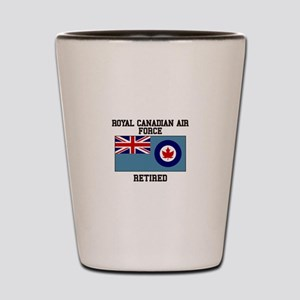 Royal Canadian Air Force Retired Shot Glass