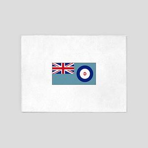 New Zealand Air Force Flag 5'x7'Area Rug