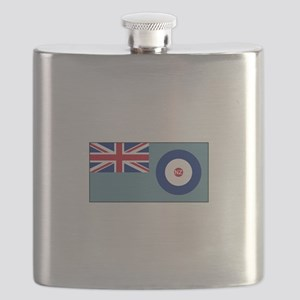 New Zealand Air Force Flag Flask