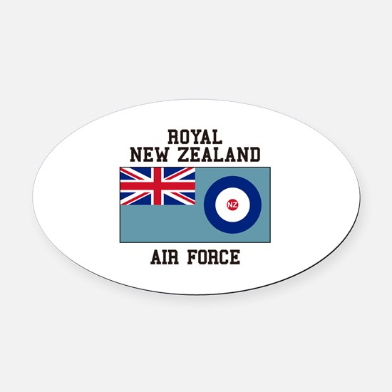 Royal New Zealand Air Force Oval Car Magnet