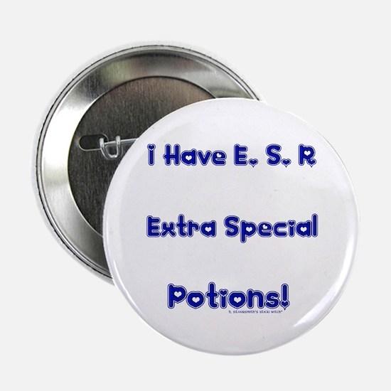 E. S. P. (Pagan/Wiccan Button)