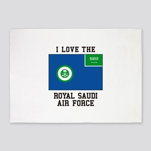 I Love The Royal Saudi Air Force 5'x7'Area Rug