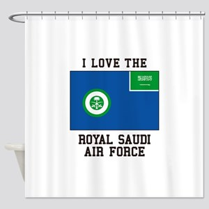 I Love The Royal Saudi Air Force Shower Curtain