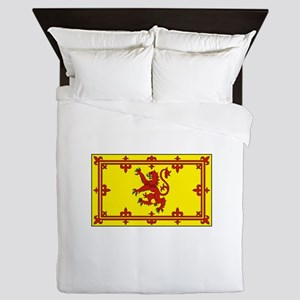 Royal Standard of Scotland Flag Queen Duvet
