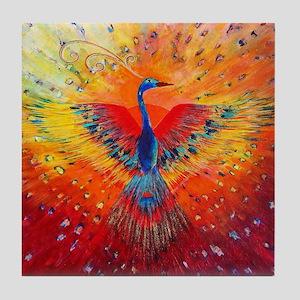 Phoenix 1 Tile Coaster