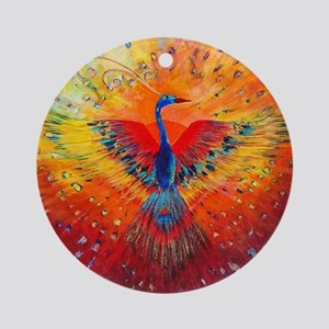 Phoenix 1 Round Ornament