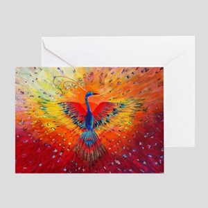 Phoenix 1 Greeting Card