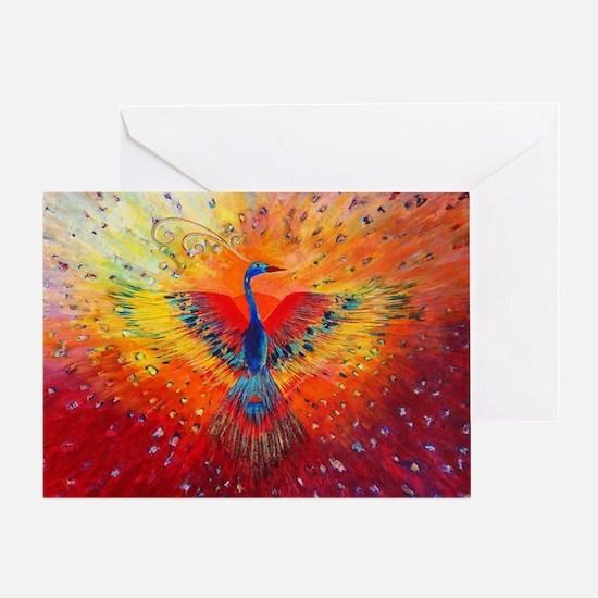 Phoenix 1 Greeting Card