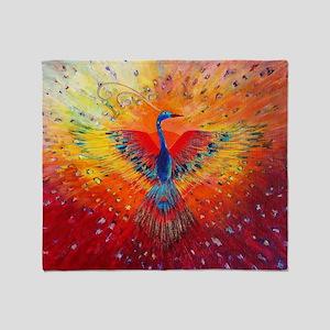 Phoenix 1 Throw Blanket