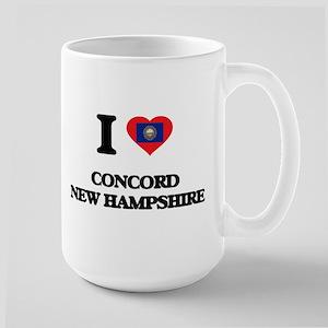 I love Concord New Hampshire Mugs
