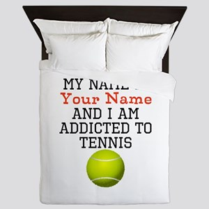 Tennis Addict Queen Duvet