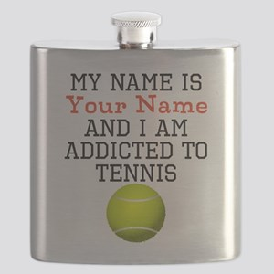 Tennis Addict Flask