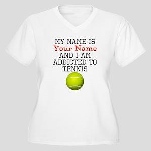 Tennis Addict Plus Size T-Shirt