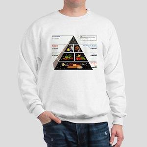 Food Pyramid Sweatshirt