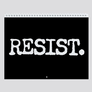 Resist Wall Calendar