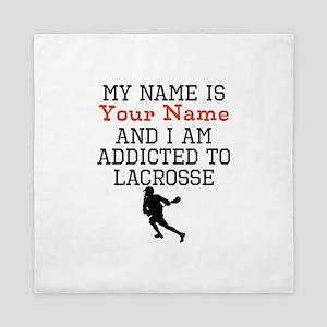 Lacrosse Addict Queen Duvet