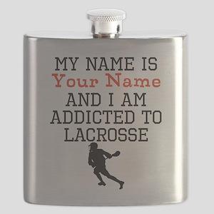 Lacrosse Addict Flask