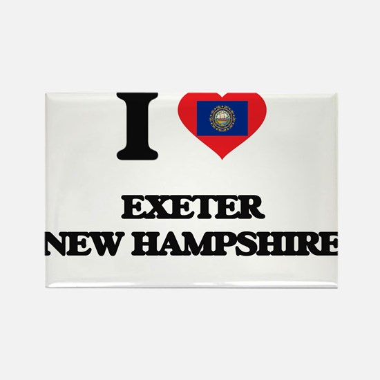 I love Exeter New Hampshire Magnets