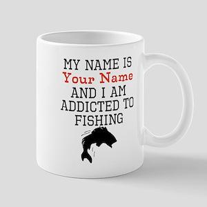 Fishing Addict Mugs