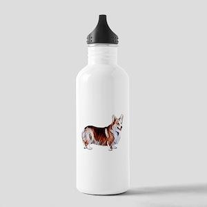Tricolor Pembroke Wels Stainless Water Bottle 1.0L