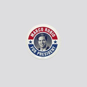 Marco Rubio For President Mini Button