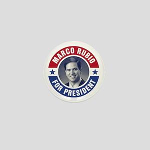 Marco Rubio For President Mini Button