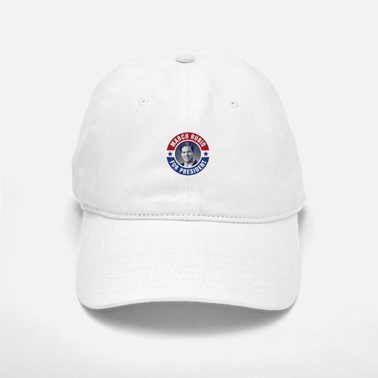 Marco Rubio For President Baseball Baseball Cap