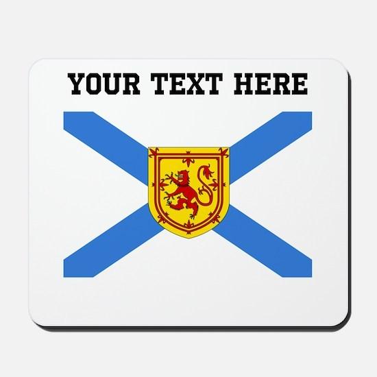 Custom Nova Scotia Flag Mousepad