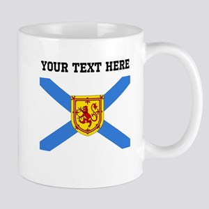 Custom Nova Scotia Flag Mugs