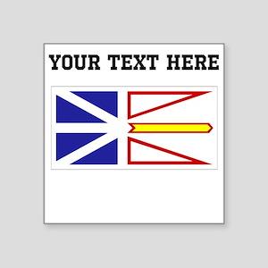Custom Newfoundland Flag Sticker