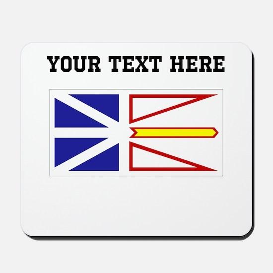 Custom Newfoundland Flag Mousepad