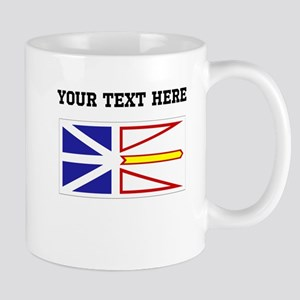 Custom Newfoundland Flag Mugs