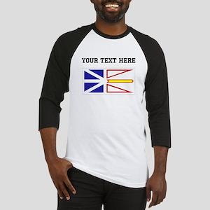 Custom Newfoundland Flag Baseball Jersey