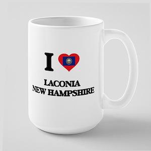 I love Laconia New Hampshire Mugs