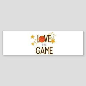 Love The Game Bumper Sticker