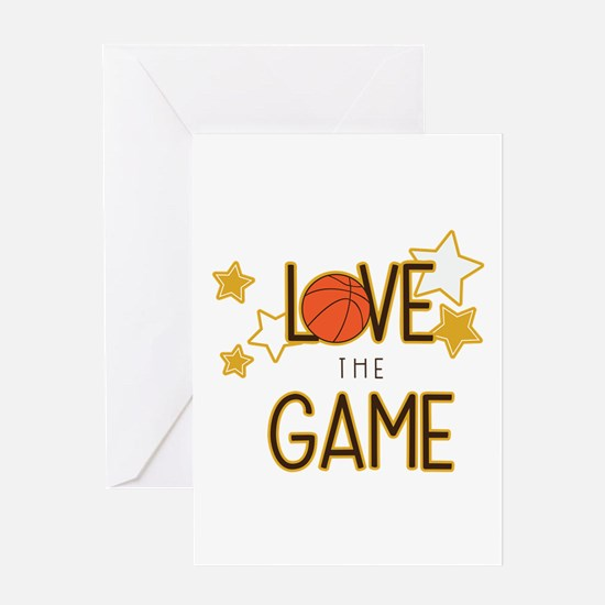 Love The Game Greeting Cards