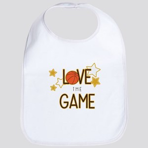 Love The Game Bib