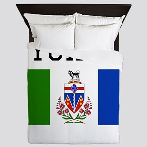 Yukon Flag Queen Duvet