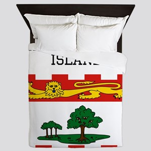 Prince Edward Island Flag Queen Duvet