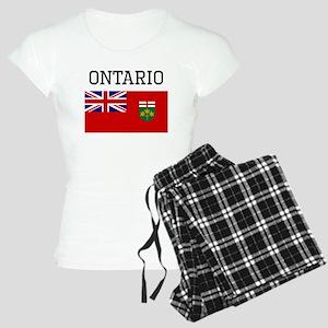 Ontario Flag Pajamas