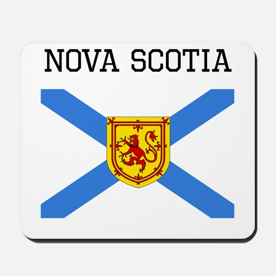 Nova Scotia Flag Mousepad