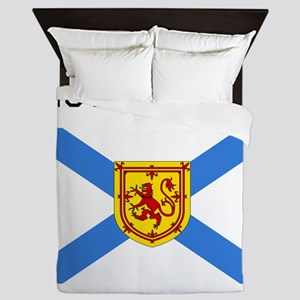 Nova Scotia Flag Queen Duvet