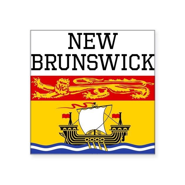 New Brunswick Flag Sticker by OhhCanada