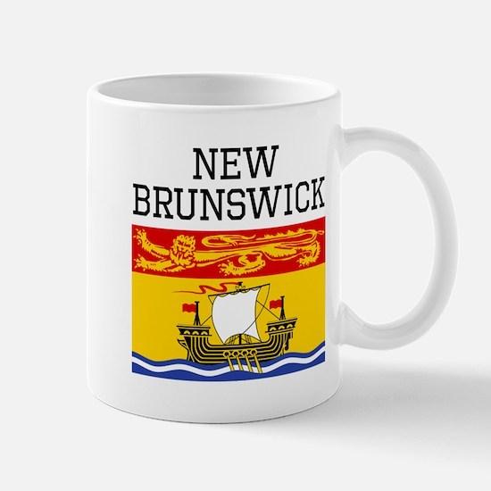 New Brunswick Flag Mugs