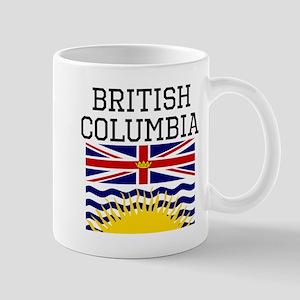 British Columbia Flag Mugs