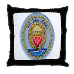 USS JOHN ADAMS Throw Pillow