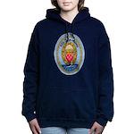 USS JOHN ADAMS Women's Hooded Sweatshirt