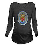 USS JOHN ADAMS Long Sleeve Maternity T-Shirt