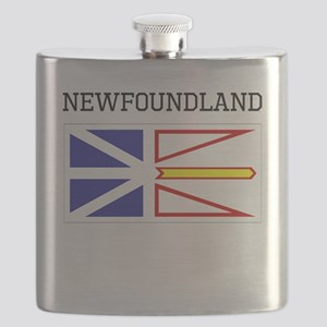 Newfoundland Flag Flask